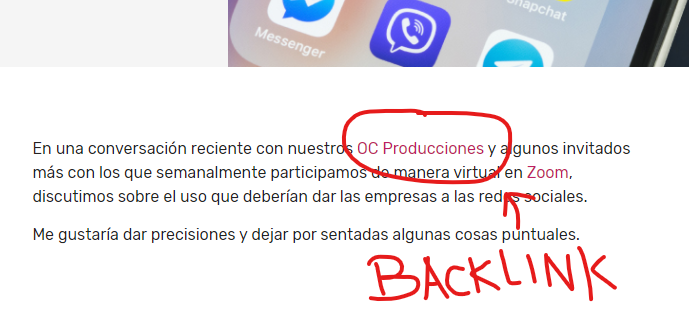 ejemplo backlink