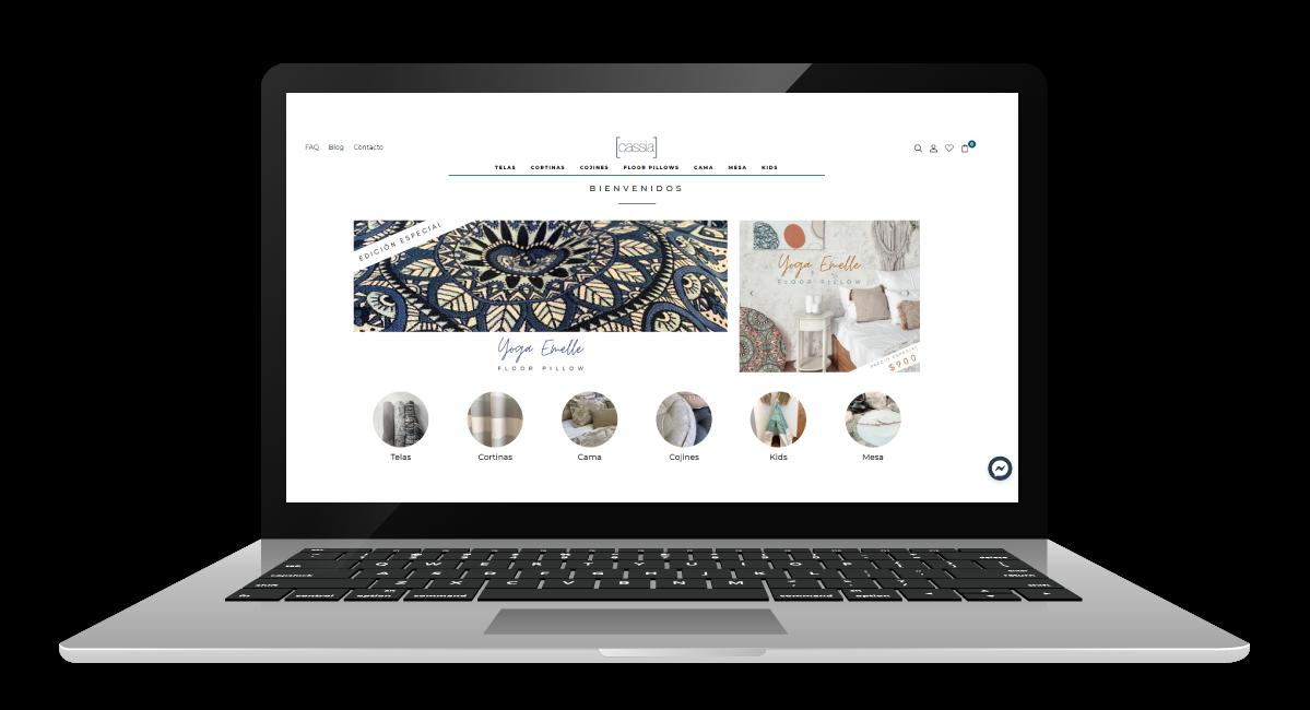 sitio web cassia desktop