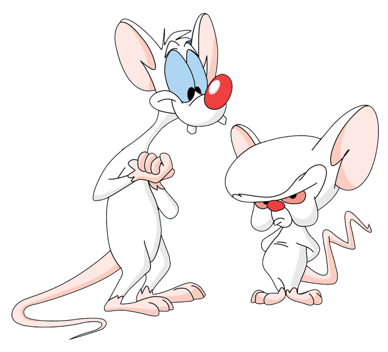 a pinky and the brain characters